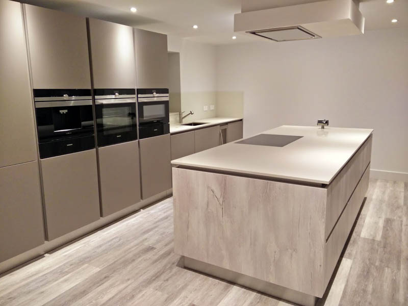 Genial  Working Closely With The Development Team, We Produced Excellent Kitchen  Plans For Both Homes, Both German Kitchens From The Brand Kuhlmann With All  Top Of ...